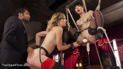 Photo number 11 from An Evil Anal Slave and Her New Pet shot for The Upper Floor on Kink.com. Featuring Mona Wales, Marica Hase and Mickey Mod in hardcore BDSM & Fetish porn.