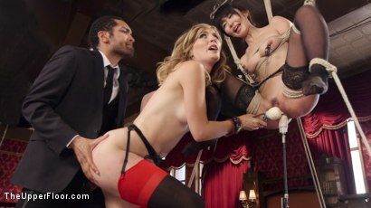 Photo number 12 from An Evil Anal Slave and Her New Pet shot for The Upper Floor on Kink.com. Featuring Mona Wales, Marica Hase and Mickey Mod in hardcore BDSM & Fetish porn.