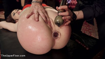 Photo number 14 from The Southern Belle & The Depraved Anal Slave shot for The Upper Floor on Kink.com. Featuring Mandy Muse, Bill Bailey and Emily Austin in hardcore BDSM & Fetish porn.