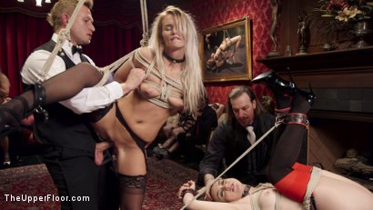 Photo number 15 from The Southern Belle & The Depraved Anal Slave shot for The Upper Floor on Kink.com. Featuring Mandy Muse, Bill Bailey and Emily Austin in hardcore BDSM & Fetish porn.