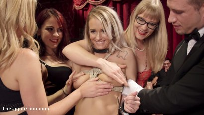 Photo number 18 from The Southern Belle & The Depraved Anal Slave shot for The Upper Floor on Kink.com. Featuring Mandy Muse, Bill Bailey and Emily Austin in hardcore BDSM & Fetish porn.