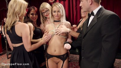 Photo number 17 from The Southern Belle & The Depraved Anal Slave shot for The Upper Floor on Kink.com. Featuring Mandy Muse, Bill Bailey and Emily Austin in hardcore BDSM & Fetish porn.