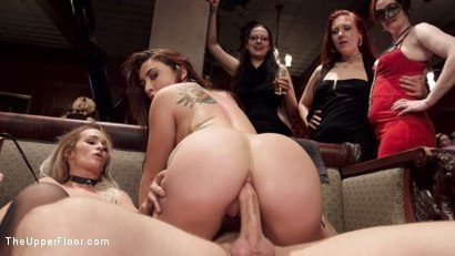 Photo number 7 from The Southern Belle & The Depraved Anal Slave shot for The Upper Floor on Kink.com. Featuring Mandy Muse, Bill Bailey and Emily Austin in hardcore BDSM & Fetish porn.