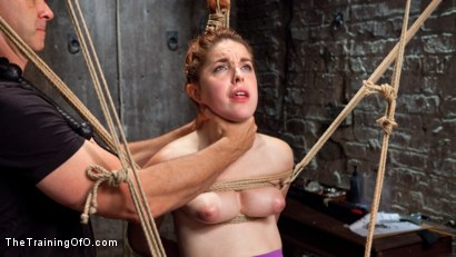Photo number 8 from Spanish Slave Girl Begs for Discipline and Training shot for The Training Of O on Kink.com. Featuring Amarna Miller and Mickey Mod in hardcore BDSM & Fetish porn.