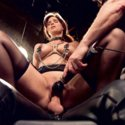 MILF slave Syren de Mer gets cruel sexual punishments and ass fucking by hard cock