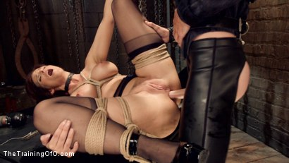 Photo number 8 from Anal MILF Syren de Mer Earns Her Final Marks shot for The Training Of O on Kink.com. Featuring Syren de Mer and Gage Sin in hardcore BDSM & Fetish porn.