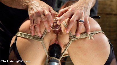 Photo number 3 from Anal MILF Syren de Mer Earns Her Final Marks shot for The Training Of O on Kink.com. Featuring Syren de Mer and Gage Sin in hardcore BDSM & Fetish porn.