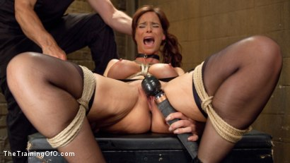 Photo number 7 from Anal MILF Syren de Mer Earns Her Final Marks shot for The Training Of O on Kink.com. Featuring Syren de Mer and Gage Sin in hardcore BDSM & Fetish porn.