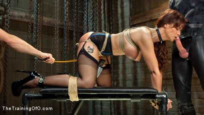 Photo number 1 from Anal MILF Syren de Mer Earns Her Final Marks shot for The Training Of O on Kink.com. Featuring Syren de Mer and Gage Sin in hardcore BDSM & Fetish porn.