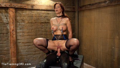 Photo number 4 from Anal MILF Syren de Mer Earns Her Final Marks shot for The Training Of O on Kink.com. Featuring Syren de Mer and Gage Sin in hardcore BDSM & Fetish porn.