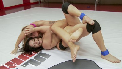 Photo number 6 from Lea Lexis and Savannah Fox Wrestle Naked and fight for a sex prize shot for Ultimate Surrender on Kink.com. Featuring Savannah Fox and Lea Lexis in hardcore BDSM & Fetish porn.