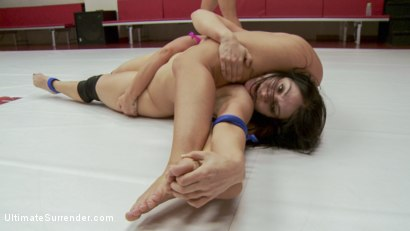 Photo number 10 from Lea Lexis and Savannah Fox Wrestle Naked and fight for a sex prize shot for Ultimate Surrender on Kink.com. Featuring Savannah Fox and Lea Lexis in hardcore BDSM & Fetish porn.