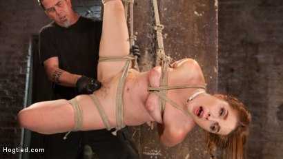 Photo number 18 from Sexy Spanish Slut Bound with Pain, Hot Wax and Orgasms!!! shot for Hogtied on Kink.com. Featuring Amarna Miller in hardcore BDSM & Fetish porn.