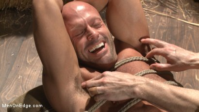 Photo number 14 from Hot cowboy tied up for the first time and shoots a load onto his face! shot for Men On Edge on Kink.com. Featuring Coby Mitchell in hardcore BDSM & Fetish porn.