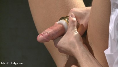 Photo number 12 from Muscled jewel thief has his uncut cock edged with the Mouth of Anubis shot for Men On Edge on Kink.com. Featuring Ivan Gregory in hardcore BDSM & Fetish porn.