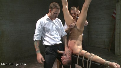 Photo number 11 from Muscled jewel thief has his uncut cock edged with the Mouth of Anubis shot for Men On Edge on Kink.com. Featuring Ivan Gregory in hardcore BDSM & Fetish porn.