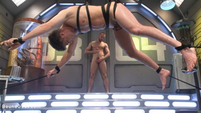 Photo number 11 from Abducted & Fucked: A twisted alien experiments on Lance Hart's Ass shot for Bound Gods on Kink.com. Featuring Jessie Colter and Lance Hart in hardcore BDSM & Fetish porn.