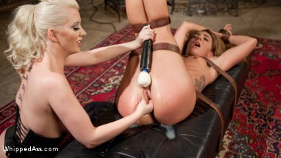 Photo number 12 from Big Booty Lesbian Slut: Bound, Spanked and Anally Dominated! shot for Whipped Ass on Kink.com. Featuring Cherry Torn and Savannah Fox in hardcore BDSM & Fetish porn.