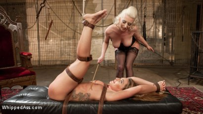 Photo number 16 from Big Booty Lesbian Slut: Bound, Spanked and Anally Dominated! shot for Whipped Ass on Kink.com. Featuring Cherry Torn and Savannah Fox in hardcore BDSM & Fetish porn.