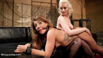 Photo number 8 from Big Booty Lesbian Slut: Bound, Spanked and Anally Dominated! shot for Whipped Ass on Kink.com. Featuring Cherry Torn and Savannah Fox in hardcore BDSM & Fetish porn.