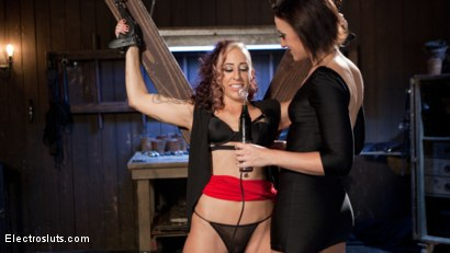Photo number 7 from Electric First Date shot for Electro Sluts on Kink.com. Featuring Dylan Ryan and Andre Shakti in hardcore BDSM & Fetish porn.