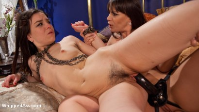 Photo number 7 from Special Delivery: Submissive Anal Slut Gifted to Hot Domme! shot for Whipped Ass on Kink.com. Featuring Dana DeArmond and Juliette March in hardcore BDSM & Fetish porn.