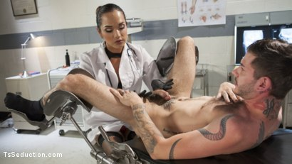 Photo number 1 from Her delicious cock is your remedy! shot for TS Seduction on Kink.com. Featuring Jessica Fox and Tristan Mathews in hardcore BDSM & Fetish porn.