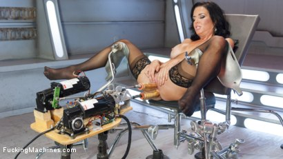 Photo number 10 from Big-Titted, Squirter, Milf, Veronica Avluv, Gets Anal Machine Fucking! shot for Fucking Machines on Kink.com. Featuring Veronica Avluv in hardcore BDSM & Fetish porn.