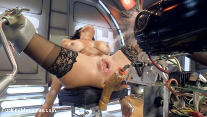 Photo number 15 from Big-Titted, Squirter, Milf, Veronica Avluv, Gets Anal Machine Fucking! shot for Fucking Machines on Kink.com. Featuring Veronica Avluv in hardcore BDSM & Fetish porn.