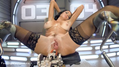 Photo number 4 from Big-Titted, Squirter, Milf, Veronica Avluv, Gets Anal Machine Fucking! shot for Fucking Machines on Kink.com. Featuring Veronica Avluv in hardcore BDSM & Fetish porn.