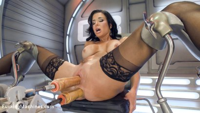 Photo number 6 from Big-Titted, Squirter, Milf, Veronica Avluv, Gets Anal Machine Fucking! shot for Fucking Machines on Kink.com. Featuring Veronica Avluv in hardcore BDSM & Fetish porn.