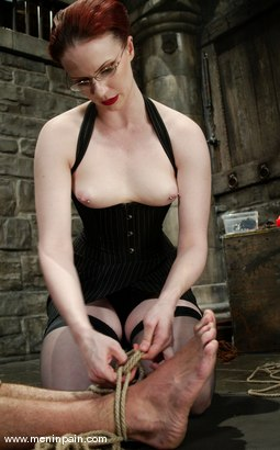 Photo number 2 from Claire Adams and totaleurosex shot for Men In Pain on Kink.com. Featuring Claire Adams and totaleurosex in hardcore BDSM & Fetish porn.