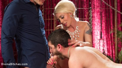 Photo number 9 from Cuckolding Bitch  shot for Divine Bitches on Kink.com. Featuring Lorelei Lee, Christian Wilde and Jay West in hardcore BDSM & Fetish porn.
