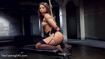 Photo number 15 from Hardcore Anal in Strict Bondage, 19 Year Old Abella Danger, Day One shot for The Training Of O on Kink.com. Featuring Abella Danger and Owen Gray in hardcore BDSM & Fetish porn.