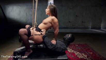 Photo number 10 from Hardcore Anal in Strict Bondage, 19 Year Old Abella Danger, Day One shot for The Training Of O on Kink.com. Featuring Abella Danger and Owen Gray in hardcore BDSM & Fetish porn.