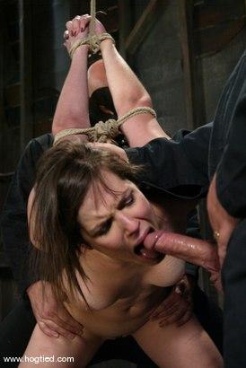 Photo number 14 from Bobbi Starr shot for Hogtied on Kink.com. Featuring Bobbi Starr in hardcore BDSM & Fetish porn.