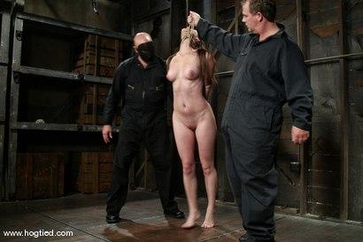 Photo number 3 from Bobbi Starr shot for Hogtied on Kink.com. Featuring Bobbi Starr in hardcore BDSM & Fetish porn.