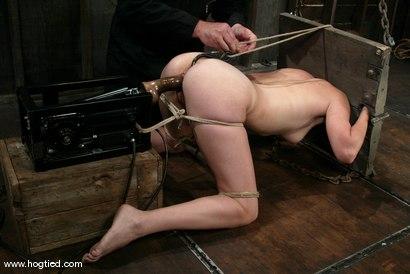 Photo number 8 from Bobbi Starr shot for Hogtied on Kink.com. Featuring Bobbi Starr in hardcore BDSM & Fetish porn.