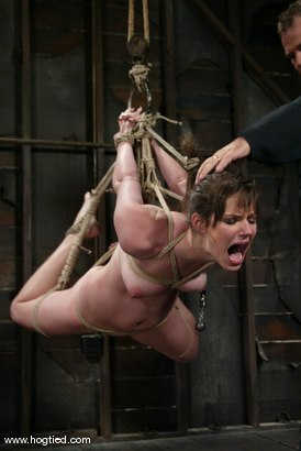 Photo number 12 from Bobbi Starr shot for Hogtied on Kink.com. Featuring Bobbi Starr in hardcore BDSM & Fetish porn.
