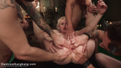 Photo number 19 from Midsummer Night's Cream: Ella Nova Double Anal/Double Vag and Fisting! shot for Hardcore Gangbang on Kink.com. Featuring Ella Nova , Gage Sin, Karlo Karrera, Tommy Pistol and Mr. Pete in hardcore BDSM & Fetish porn.