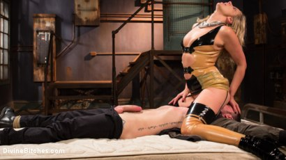 Photo number 6 from Demolishing the Dom! shot for Divine Bitches on Kink.com. Featuring Maitresse Madeline Marlowe and Sergeant Miles in hardcore BDSM & Fetish porn.