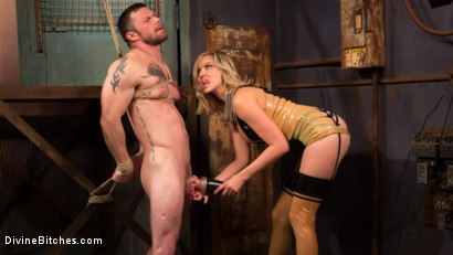 Photo number 9 from Demolishing the Dom! shot for Divine Bitches on Kink.com. Featuring Maitresse Madeline Marlowe  and Sergeant Miles in hardcore BDSM & Fetish porn.