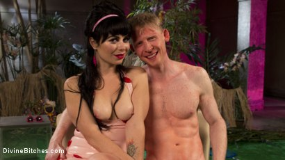 Photo number 6 from FemDom Pool Party shot for Divine Bitches on Kink.com. Featuring Rob Yaeger and Siouxsie Q in hardcore BDSM & Fetish porn.