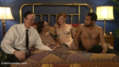 Photo number 1 from MMMF Threesomes: How to Perform Double & Triple Penetration shot for Kink University on Kink.com. Featuring Mickey Mod, Owen Gray, Danarama and Sahara Rain in hardcore BDSM & Fetish porn.