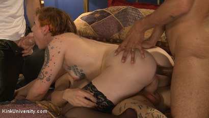 Photo number 2 from MMMF Threesomes: How to Perform Double & Triple Penetration shot for Kink University on Kink.com. Featuring Mickey Mod, Owen Gray, Danarama and Sahara Rain in hardcore BDSM & Fetish porn.