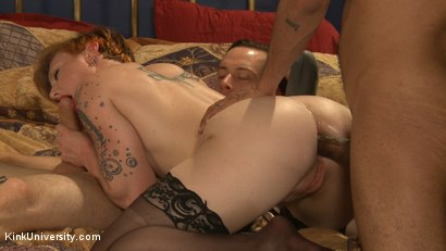 Photo number 13 from MMMF Threesomes: How to Perform Double & Triple Penetration shot for Kink University on Kink.com. Featuring Mickey Mod, Owen Gray, Danarama and Sahara Rain in hardcore BDSM & Fetish porn.