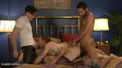 Photo number 15 from MMMF Threesomes: How to Perform Double & Triple Penetration shot for Kink University on Kink.com. Featuring Mickey Mod, Owen Gray, Danarama and Sahara Rain in hardcore BDSM & Fetish porn.