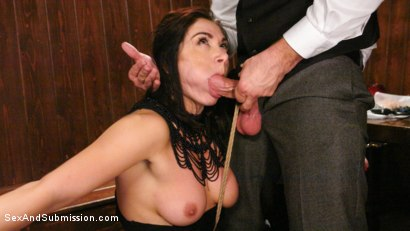 Photo number 12 from WINNER TAKES ALL shot for Sex And Submission on Kink.com. Featuring Lea Lexis and Bill Bailey in hardcore BDSM & Fetish porn.
