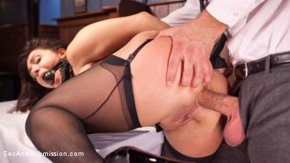 Photo number 5 from WINNER TAKES ALL shot for Sex And Submission on Kink.com. Featuring Lea Lexis and Bill Bailey in hardcore BDSM & Fetish porn.