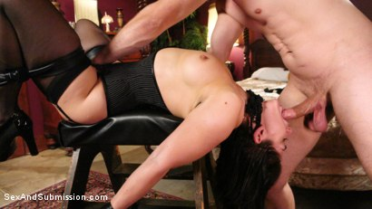 Photo number 2 from WINNER TAKES ALL shot for Sex And Submission on Kink.com. Featuring Lea Lexis and Bill Bailey in hardcore BDSM & Fetish porn.